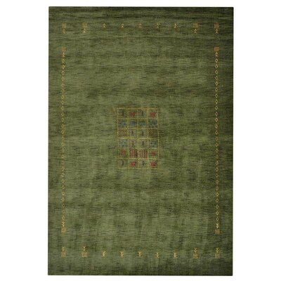 Manns Hand-Woven Wool Green Area Rug Rug Size: Rectangle�8 x 10
