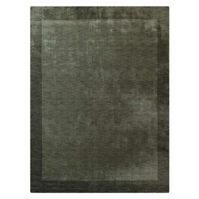 Manns Hand-Woven Wool Green Area Rug Rug Size: Rectangle�6 x 9