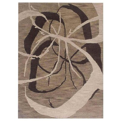 Jefferson Place Hand-Woven Light Brown Area Rug Rug Size: Rectangle�5 x 8