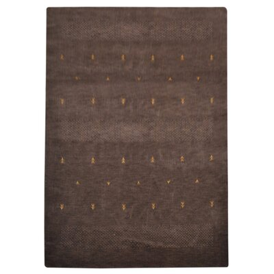 Coppermead Hand-Woven Wool Brown Area Rug Rug Size: Rectangle�8 x 11