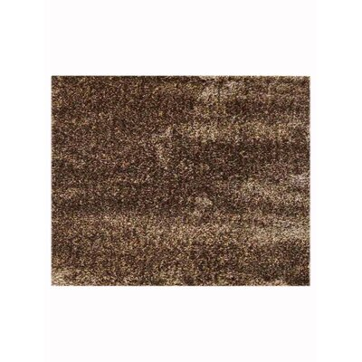 Manns Shag Brown Beige Area Rug