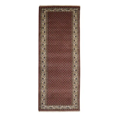 Olszewski Persian Hand-Woven Wool Rose Area Rug