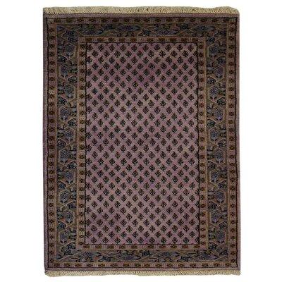 Olszewski Persian Hand-Woven Wool Pink Area Rug