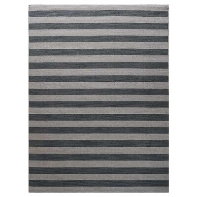 Cilegon Hand-Woven Wool Cream/Silver Area Rug Rug Size: Rectangle�67 x 910