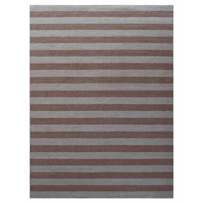 Cilegon Hand-Woven Wool Cream/Light Brown Area Rug Rug Size: Rectangle�8 x 10