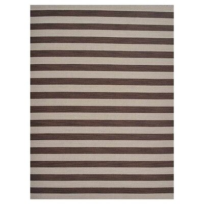 Cilegon Hand-Woven Wool Cream/Brown Area Rug Rug Size: Rectangle�9 x 12