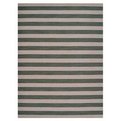 Cilegon Hand-Woven Wool Cream/Olive Area Rug Rug Size: Rectangle�8 x 10
