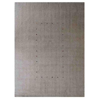 Manns Hand-Woven Wool Beige Area Rug Rug Size: Rectangle�8 x 10