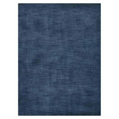 Woodhouse Hand-Woven Wool Blue Area Rug Rug Size: Rectangle�57 x 710
