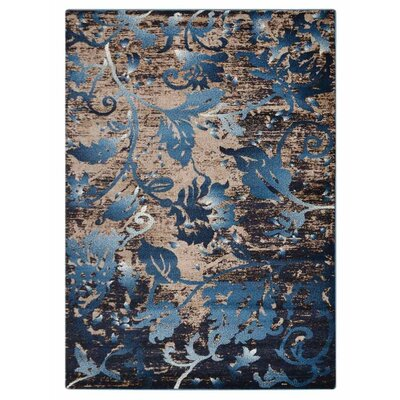 Aresford Blue Area Rug Rug Size: Rectangle�67 x 9