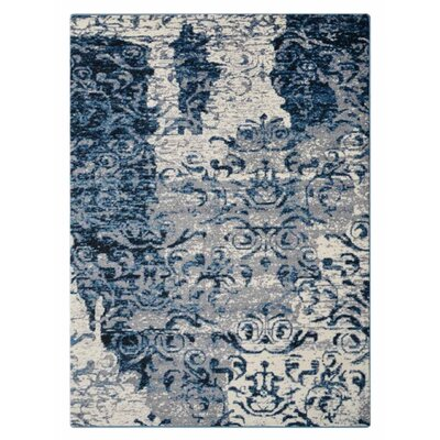 Cindi Blue Area Rug Rug Size: Rectangle�67 x 9