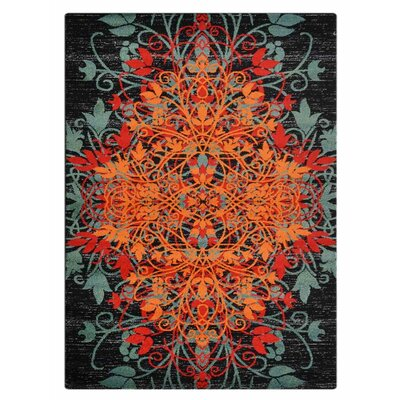 Anneliese Orange/Green Area Rug Rug Size: Rectangle�67 x 9