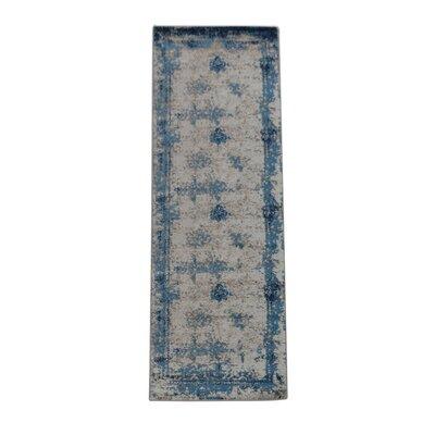 Annice Beige/Blue Area Rug Rug Size: Runner�32 x 10