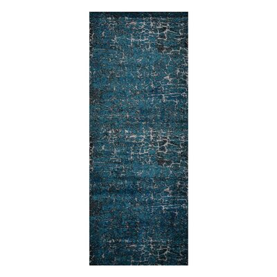 Costales Blue Area Rug Rug Size: Runner�32 x 10