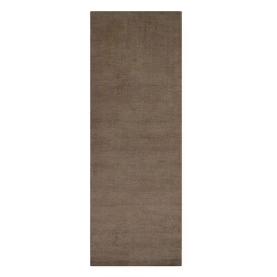 Woodhouse Hand-Woven Wool Beige Area Rug Rug Size: Runner�28 x 8