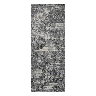 Hassen Silver/Gray Area Rug Rug Size: Runner�32 x 10