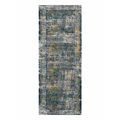 Claverton Silver/Gray Area Rug Rug Size: Runner�32 x 10
