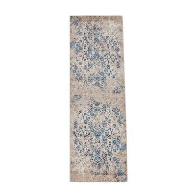 Arakaki Beige/Blue Area Rug Rug Size: Runner�32 x 10