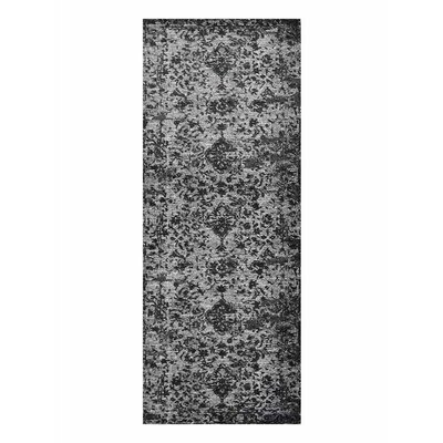 Costales Silver/Black Area Rug Rug Size: Runner�32 x 10