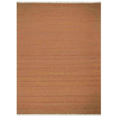 Corvallis Hand-Woven Orange Area Rug Rug Size: Rectangle�9 x 12