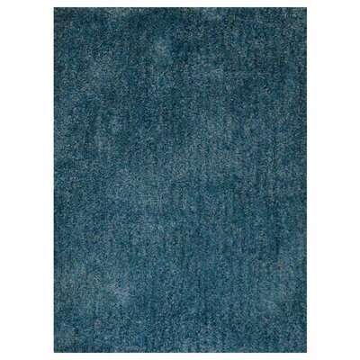 Sanford Solid Hand-Woven Firoza Area Rug Rug Size: Rectangle�10 x 13