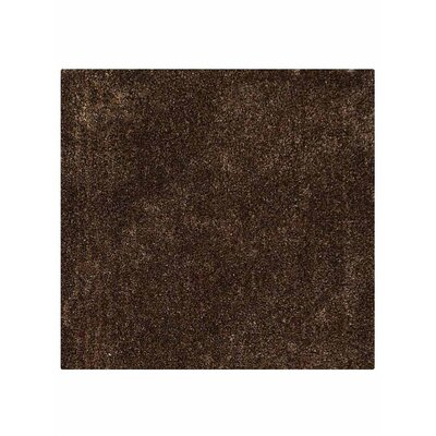 Filander Hand-Woven Brown Area Rug Rug Size: Square 8