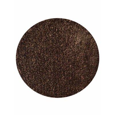 Filander Hand-Woven Brown Area Rug Rug Size: Round 8
