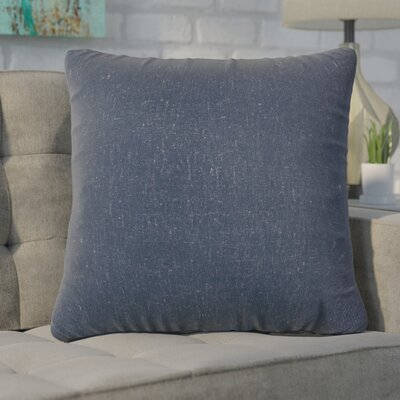 Christy Throw Pillow Size: Large, Color: Navy