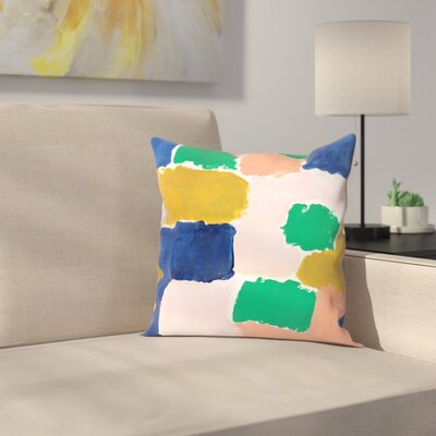 Charlotte Winter Shel Throw Pillow Size: 20 x 20