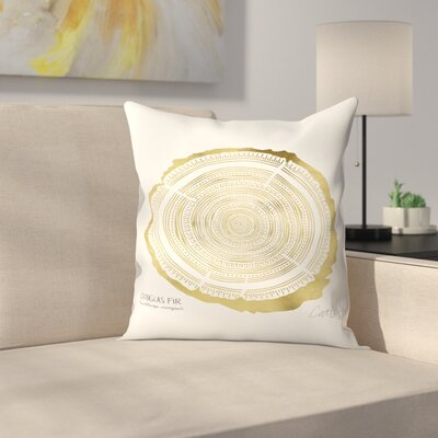 Douglasfir Throw Pillow Size: 14 x 14