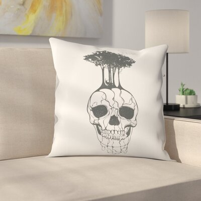 Fossil Throw Pillow Size: 16 x 16