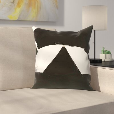 Kasi Minami Abstract 6 Throw Pillow Size: 16 x 16