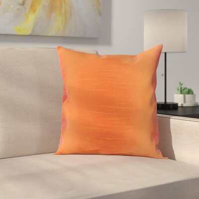 Lindfield Throw Pillow Color: Tangerine, Size: 20 H x 20 W