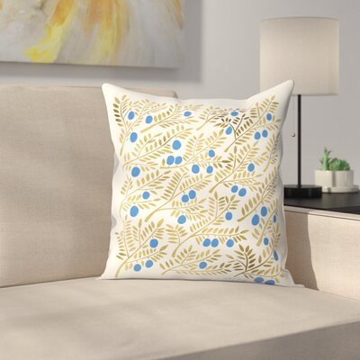 Cat Coquillette Branches Throw Pillow Size: 14 x 14
