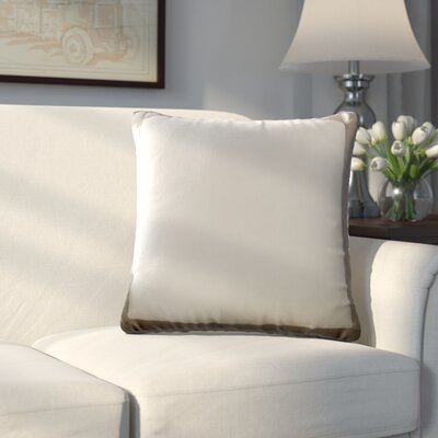 Dahlia Throw Pillow Color: Tan