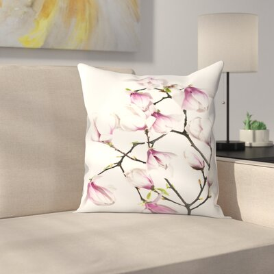Maja Hrnjak Magnolia6 Throw Pillow Size: 14 x 14