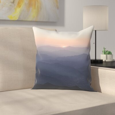 Luke Gram Huanghuacheng China Throw Pillow Size: 18 x 18