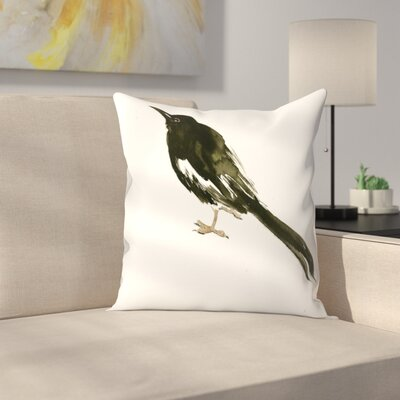 Suren Nersisyan Magpie 3 Throw Pillow Size: 16 x 16