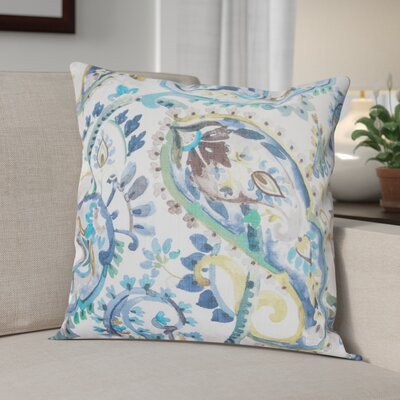 Shepherd Decorative Throw Pillow Color: Azure