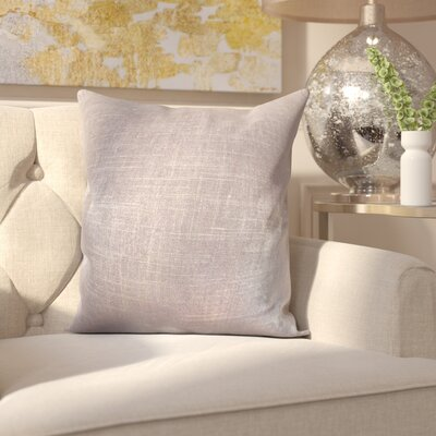 Camille Throw Pillow Color: Amethyst