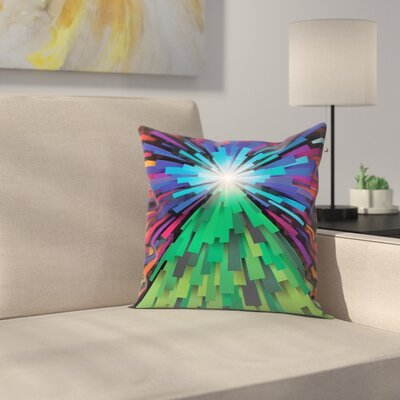 Joe Van Wetering Light the Tree Throw Pillow Size: 18 x 18