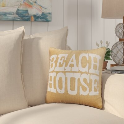 Charlotte Throw Pillow Color: Natural