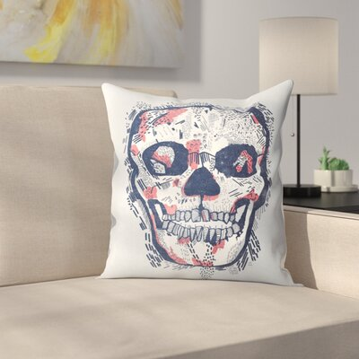 Scars Throw Pillow Size: 18 x 18