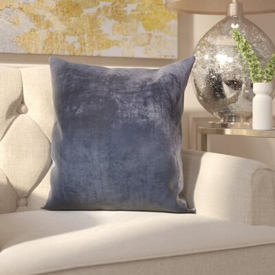Robillard Ombre Pillow Cover Color: Navy