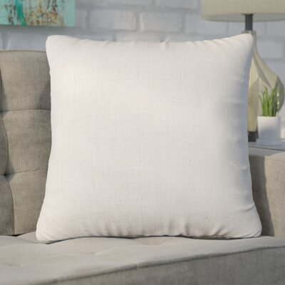 Christy Throw Pillow Size: Extra Large, Color: Magnolia