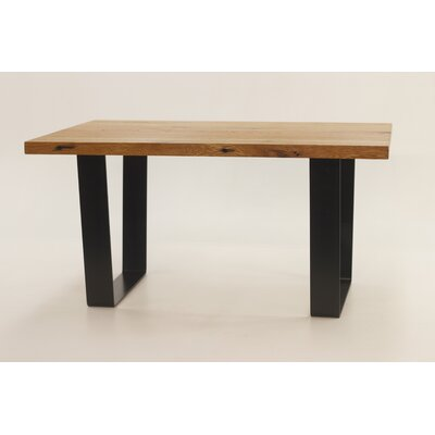 Crowder Coffee Table Size: 18.25 H x 36 W x 60 D, Table Base Color: Black