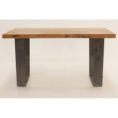 Crowder Coffee Table Size: 18.25 H x 24 W x 42 D, Table Base Color: Natural Gray