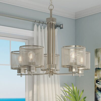 Mulligan Indoor 5-Light Drum Chandelier