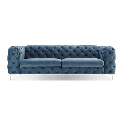 Kogut Chesterfield Sofa Upholstery: French Blue