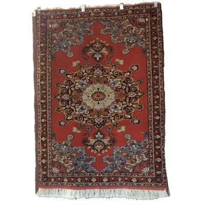 One-of-a-Kind Magallanes Ghoochan Hand-Knotted Wool Terracotta Area Rug